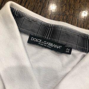 Dolce & Gabbana White polo